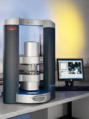 Zusatzmodul RheoScope: Rheometer plus Mikroskop