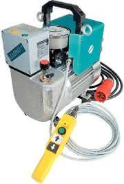 Hydraulikaggregat: Hohe Schraubgeschwindigkeit