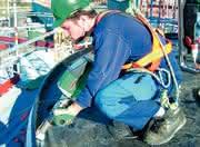 Hand-Extruder: Hand-Extruder für Biowäscher-Silos