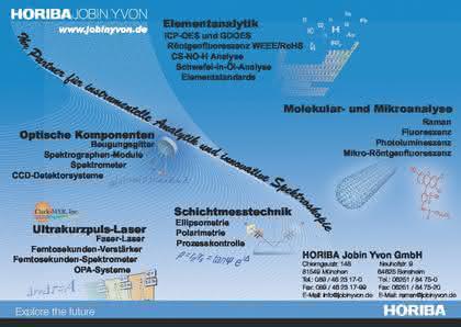 Spektroskopie-Programm: Partner  für Spektroskopie