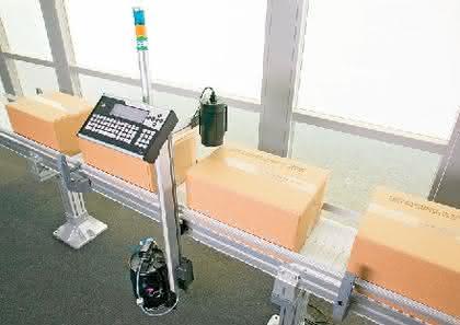 Drucker 4020: Unterschiedliche Verpackungen kennzeichnen