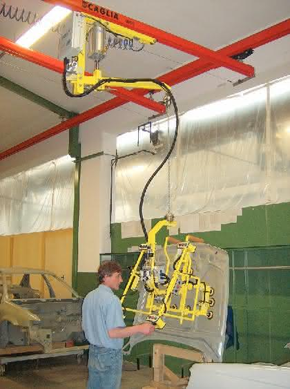 Pneumatisches Handhabungsgerät Serie PN: Per Druckluft balancieren