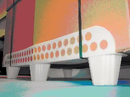 Palettenkufen Optiledgs: Schuhe für Kartons