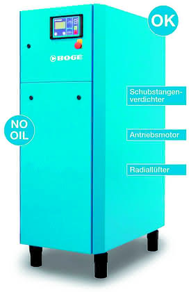 KM-Focus Maschinen und Anlagen für Kunststoffverarbeiter: Ölfreie Druckluft