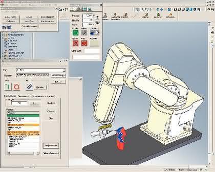 Melfa Vision: Roboter schneller produktiv machen