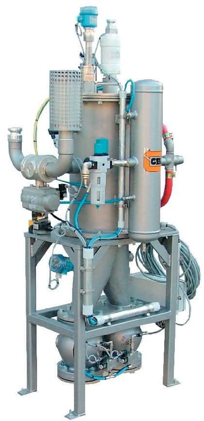 Vakuum-Fördersysteme VSTC: Vakuum-Saugen in Ex-schutz-Umgebungen