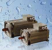 Servomotoren, flüssigkeitsgekühlt: Gut gekühlt läuft der Motor schneller