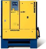 Kompakter Kompressor: Hohe Effizienz und geringer Platzbedarf