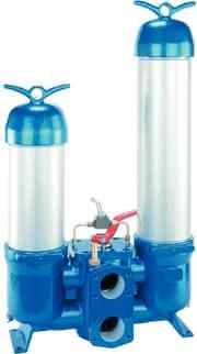Niederdruck-Doppelschaltfilter: Rohr frei