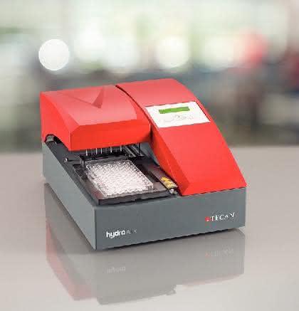 Plattform HydroFlex: Automatisiertes Filtrieren,  Separieren und Mikroplatten-Waschen