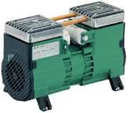 Produktprogramm Kompressor/Vakuumpumpen: Ölfreie Luft für Medizintechnik