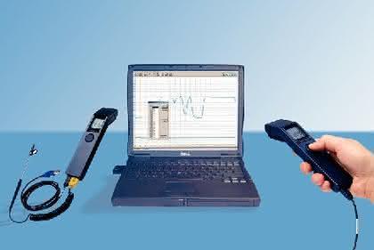 Handpyrometer Proscan 520: An kleinen Objekten  große Temperaturen messen