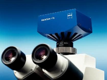 Mikroskopkamera AxioCam HRc: Flexible, hochauflösende Kamera