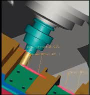 CAM-System, Einstell- und Messgerät: Schluss machen