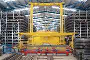 Regalbediengerät für Langgüter: Flotter Bediener