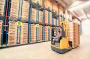 "Warehouse Management System: ""Palette an Verwaltung"""