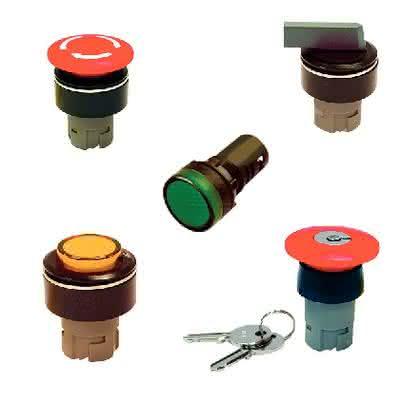 Schalter, Tasten und Signalleuchten: Spezialist für Schalter,  Tasten und Leuchten
