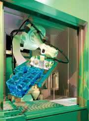 Robotergreifer: Eine flexible Reinigungskraft