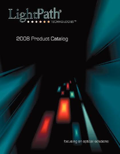 LightPath-Katalog: Optische Lösungen auf 74 Seiten
