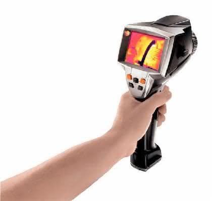 Wärmebildkamera 880: Mehr sehen mit der  neuen Wärmebildkamera