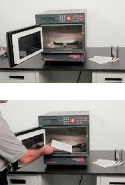 Mikrowellen-Trockenschrank SAM 255: Der schnellste Trockenschrank der Welt