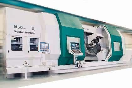 CNC-Bearbeitungszentrum: Umlaufdurchmesser bis 1.500 Millimeter