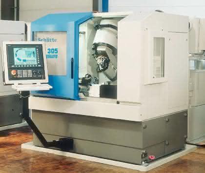 Mikro-Fräser, Werkzeug-Schleifmaschinen: 1000 Fräser und 1µ Abweichung