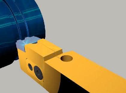 Werkzeughalterungen und Schneidplatten: Mit pfiffigen Werkzeuglösungen
