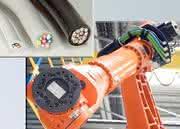Roboterkabel: Besonders biege- sichere Roboterkabel