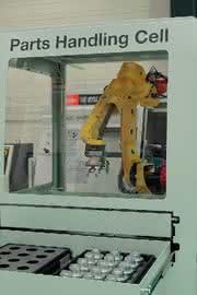 Werkzeugmaschinen: Arbeit in der Zelle