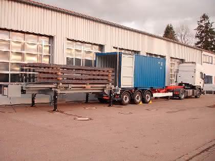 Mobile Containerbeladung Container Mobil Beladen Handling Online