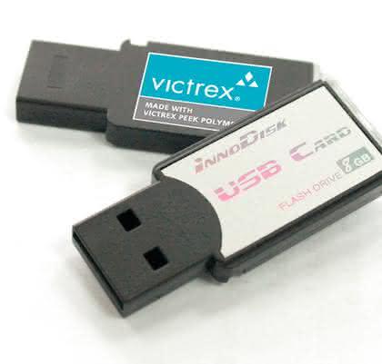 PEEK für USB-Produkte: Kunststoff ersetzt  Metall und Gummi