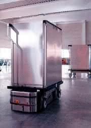 Automatische Warentransportanlage: Automatisch transportieren