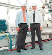 : Recycling komplexer  PVC-Abfälle läuft