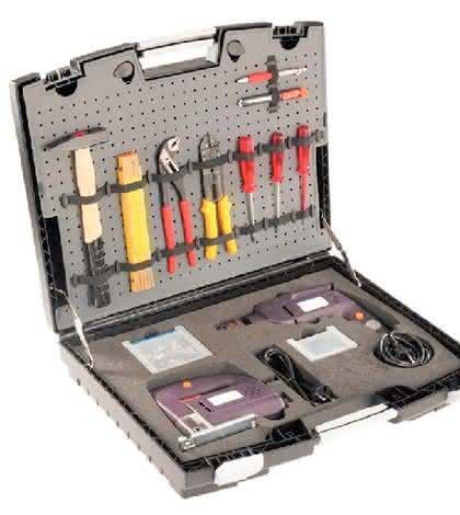 Werkzeugkoffer: Werkzeuge sicher und attraktiv verpacken