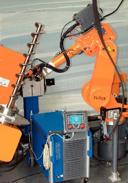 Roboterbasiertes Schweißen Qineo Pulse: Roboter macht  gute Naht