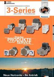 Katalog Kleingetriebemotoren: Ob langsam wie eine Schnecke