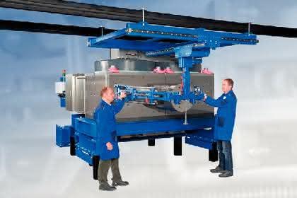 Siebwechsler der Poly-Baureihe: Filtert 45 Tonnen pro Stunde