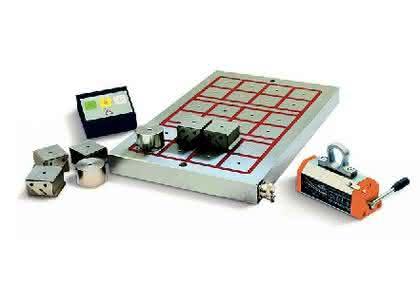 Elektromagnetische Spannsysteme: Zuverlässige  Magnetspanntechnik