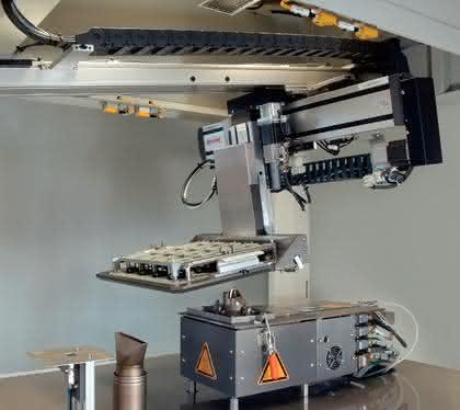 CNC-Mehrachsen-Portalsystem: Auf den  Punkt gebracht