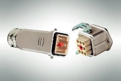 Gehäuse für Industrie-Steckverbinder: Geschützten Kontakt