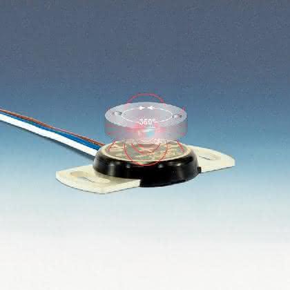 Magnetischer Winkelsensor: Flach