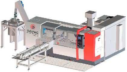 Wellenbohrmaschine: Tief bohren