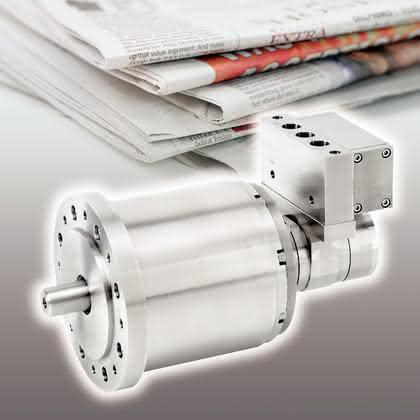 Druckluftlamellenmotoren: Großer Papierhunger