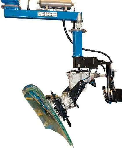 Handhabungsgerät Posimat PB250: Einfaches Drehen  und Umsetzen