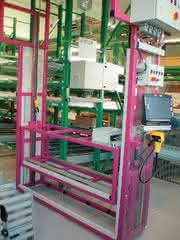 Regalbediengeräte: Niveau durch  innovatives RGB