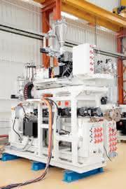 Extruder (36 D) mit AC-Motor: Mit Energie haushalten