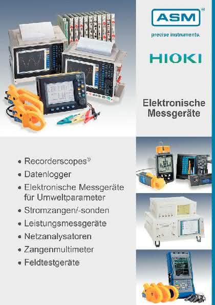 Messgeräte-Katalog 2008: Neuer Messgeräte-Katalog
