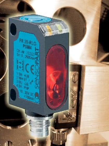 Laser-Reflexionslichtschranke: Mit einem Auge sieht man besser