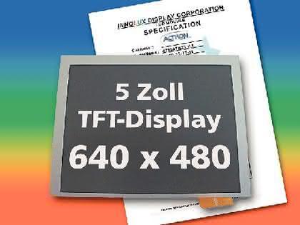 TFT-Display: Extra groß und extra breit